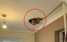 Đang dọn dẹp để sửa sang nhà cửa, người phụ nữ hốt hoảng khi nhìn thấy đầu người trên trần nhà trước khi phát hiện sự thật không ai ngờ