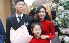 Chân dung người chị ruột xinh đẹp và cô cháu gái model nhí chuyên nghiệp vừa xuất hiện nổi bật trong đám cưới cậu Duy Mạnh ngày hôm qua