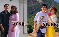 Cô gái giảm 11kg trở nên xinh đẹp hơn sau 3 năm yêu dù bạn trai không chê một lời: Mục tiêu không đuổi có khi lại về!