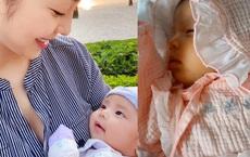Jennifer Phạm lần đầu khoe cận mặt con gái mới sinh, dân mạng rào rào khen ngợi