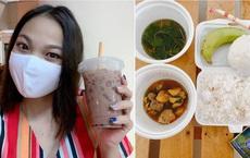 Review cơm cách ly được các anh bộ đội nấu cho ăn mỗi ngày, gái xinh gây sốt mạng xã hội: Thế này về nhà không khéo tăng cân mất!