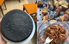 """Những pha thất bại cay đắng của hội chị em khi ở nhà nấu ăn mùa dịch: Bánh bông lan """"Bao Công"""" làm bằng nồi cơm điện, """"chè sữa"""" trân châu nát bét"""