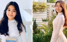 Con gái Quyền Linh mặc áo dài của mẹ đón sinh nhật tuổi 14: Đẹp nức nở như công chúa!