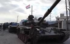 Quân đội Syria cho nổ một kho đạn của phiến quân ở Idlib