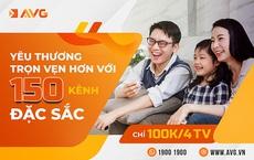 """AVG """"chơi sốc"""": sử dụng tới 4 tivi cước chỉ 100k"""