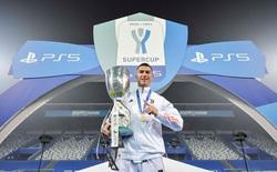 Ronaldo cười toe toét, hạnh phúc hôn cúp vô địch trong ngày chính thức trở thành CHÂN SÚT VĨ ĐẠI NHẤT lịch sử