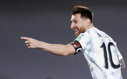 Messi tỏa sáng, Argentina thắng đậm Uruguay