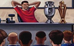 Biếm hoạ 24h: Cristiano Ronaldo mở lớp học đặc biệt