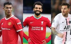 Mo Salah hiện thời xuất sắc hơn Messi lẫn Ronaldo