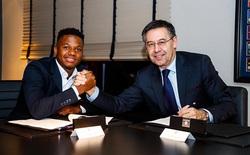Barcelona 'trói' thêm 1 sao trẻ với điều khoản trên trời