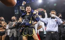 Võ sĩ Việt Nam lập cột mốc lịch sử khi hạ gục đối thủ Nhật Bản, giành đai boxing thế giới