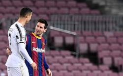 Ronaldo tụt giá thảm hại, xếp kém Messi đến 40 bậc