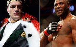 Tyson Fury tuyên bố 'thắng dễ' Francis Ngannou nếu đôi bên đối đầu, nhà vô địch UFC lập tức đáp lời