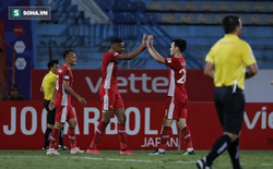"""Hai trò cưng thầy Park ghi dấu ấn đậm nét, """"Cơn lốc đỏ"""" Viettel cuốn phăng Quảng Ninh FC"""