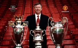Sir Alex Ferguson giành 'cú ăn ba' ở tuổi 79