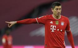 Bayern bất ngờ rao bán tiền đạoLewandowski