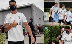 Cristiano Ronaldo gây xúc động khi trở lại hội quân với Juventus