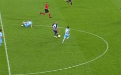De Bruyne nổi giận vì bị trọng tài cản trở khiến Man City thủng lưới