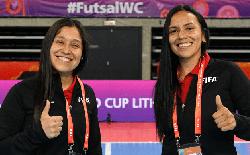 Hai nữ trọng tài bắt chính trận tuyển futsal Việt Nam đấu CH Czech tại World Cup 2021