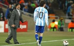 Messi đứng đầu nhưng Maradona ở một thế giới khác