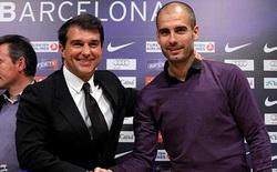 """Laporta tiết lộ """"lá bài tranh cử"""" Chủ tịch Barca"""