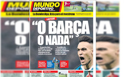 """Lautaro Martinez """"ra đòn"""" quyết định để được tới Barcelona"""