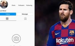 """Fan tá hỏa khi chứng kiến tài khoản 152 triệu follow của Messi bỗng mất sạch: Phải chăng có """"bàn tay đen"""" của Ronaldo?"""