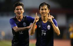 Ngược dòng đầy chớp nhoáng, Campuchia giành tấm vé đi tiếp ở giải châu Á