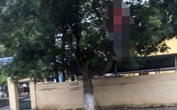 Phát hiện người đàn ông tử vong trong tư thế treo cổ cạnh cổng trường học