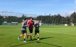Cả đội được nghỉ, Văn Hậu vẫn tự mình đến đại bản doanh SC Heerenveen tập luyện