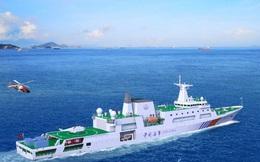 Tăng cường lực lượng trên Biển Đông, Trung Quốc hạ thủy tàu tuần tra khủng