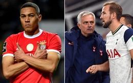 "Mourinho đưa ""Lukaku Brazil"" về Tottenham"