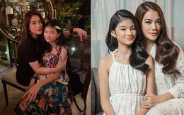 Mới 12 tuổi nhưng con gái Trương Ngọc Ánh đã ra dáng thiếu nữ, xinh như hoa hậu