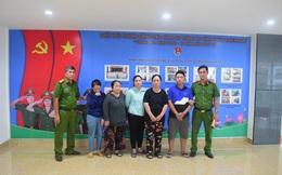 Cả gia đình 5 người lái ôtô từ Nghệ An vào Huế để hành nghề... móc túi