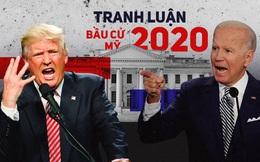 """Chuyên gia Mỹ: Cuộc tranh luận Trump - Biden """"tạm được"""" nếu xem chỉ để giải trí"""