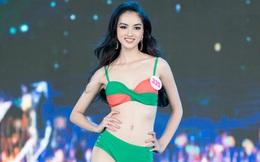 Cận cảnh màn thi bikini nóng bỏng của các thí sinh đẹp nhất, lọt bán kết Hoa hậu VN 2020