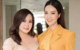 Diễn viên Phan Kim Oanh đọ sắc cùng Thụy Vân