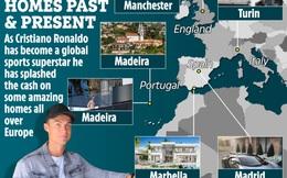 Những ngôi nhà của Ronaldo: Từ Madeira cho đến Turin