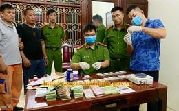 Công an Ninh Bình bắt đối tượng 'cộm cán' về ma tuý