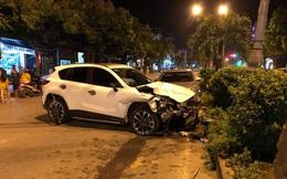 Khởi tố vụ án, tạm giữ nam thanh niên chưa có bằng lái điều khiển xe Mazda gây tai nạn liên hoàn