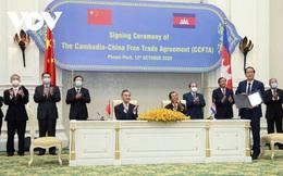 Campuchia chính thức ký Hiệp định Thương mại tự do với Trung Quốc
