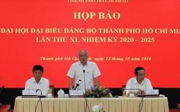 Ban Chấp hành Đảng bộ TP HCM nhiệm kỳ 2020-2025 sẽ gồm 61 người