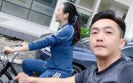 Cường Đô La tự hào vì lôi kéo thành công vợ chơi 'siêu xe' mới, vô tình để lộ vóc dáng của mẹ bỉm sau 2 tháng sinh nở