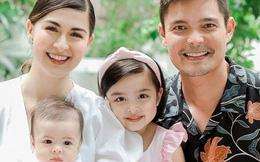 """Mỹ nhân đẹp nhất Philippines khoe ảnh gia đình """"sốc visual"""", bé Zia chiếm trọn spotlight: Xinh thế này bảo sao cát xê khủng hơn cả mẹ"""