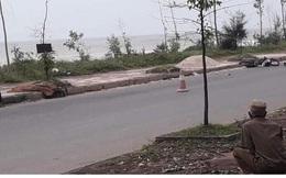 Phát hiện thi thể nam thanh niên bên quốc lộ ven biển