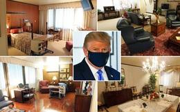 Bên trong phòng tổng thống tại bệnh viện ông Trump điều trị Covid-19