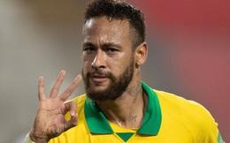 Peru 2-4 Brazil: Neymar lập hat-trick, Brazil đòi lại ngôi đầu
