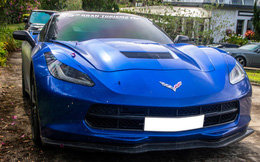 Cận cảnh Chevrolet Corvette C7 Stingray màu độc giá hơn 4 tỷ đồng của dân chơi Trà Vinh