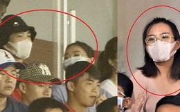 Hình ảnh gây lú: Em gái Công Phượng bị nhận nhầm là Viên Minh khi cùng anh trai đến sân Thống Nhất xem bóng đá