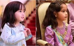 Tiểu công chúa Malaysia sinh ra đã có hàng nghìn tỷ, càng lớn càng xinh đẹp